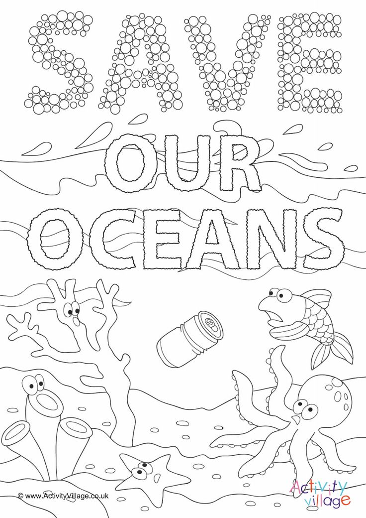 Página 1 Ocean coloring pages, coloring pages