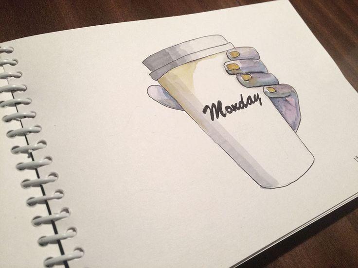 Den beste (eller vertfal mest nødvendige) kaffekoppen hele uka er den på mandags morgen.