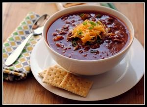 Halftime Chili | Recipe ideas | Pinterest