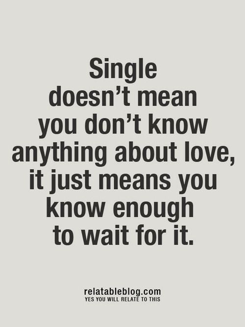 So many people I know need to see this, so I'm repinning even though I am not single :)