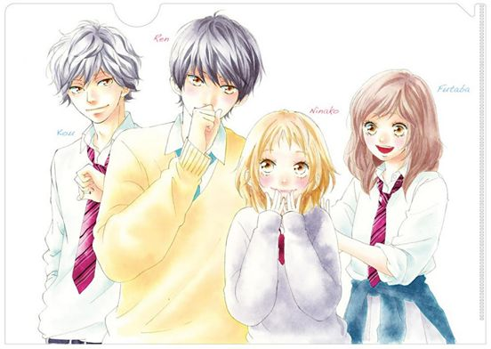 Blue Spring Ride & Strobe Edge - This two stories should have a crossover chapter in the manga, it has to happen ok?!
