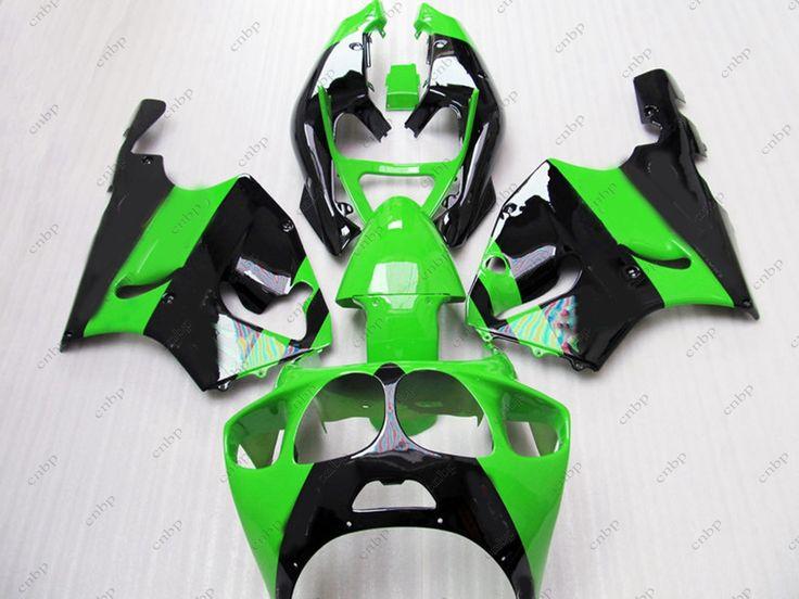 Fairings Zx7r 2002 Fairing for Kawasaki Zx7r 2002 1996 - 2003 Green Black Abs Fairing Zx7r 1998 #Affiliate