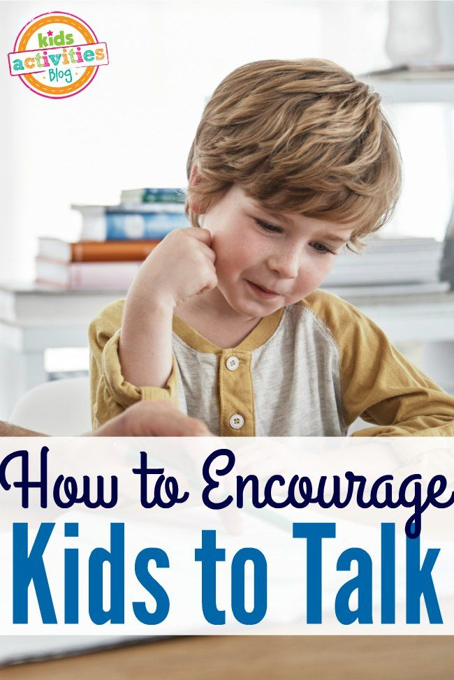 Ready to get kids talking? Try this simple tip to encourage your child to talk or to help a child with a speech delay.