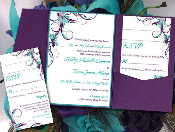 Best Diy Wedding Invitations Templates Ideas Only On Pinterest