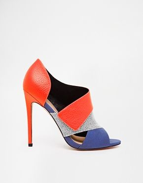 Enlarge ASOS PACIFIC CITY High Heels with Peep Toe