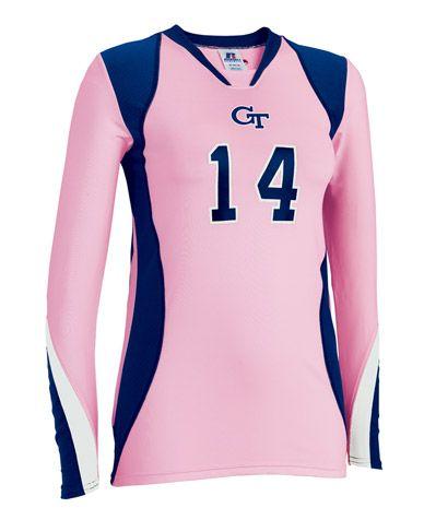 Long Sleeve Custom Volleyball Jersey