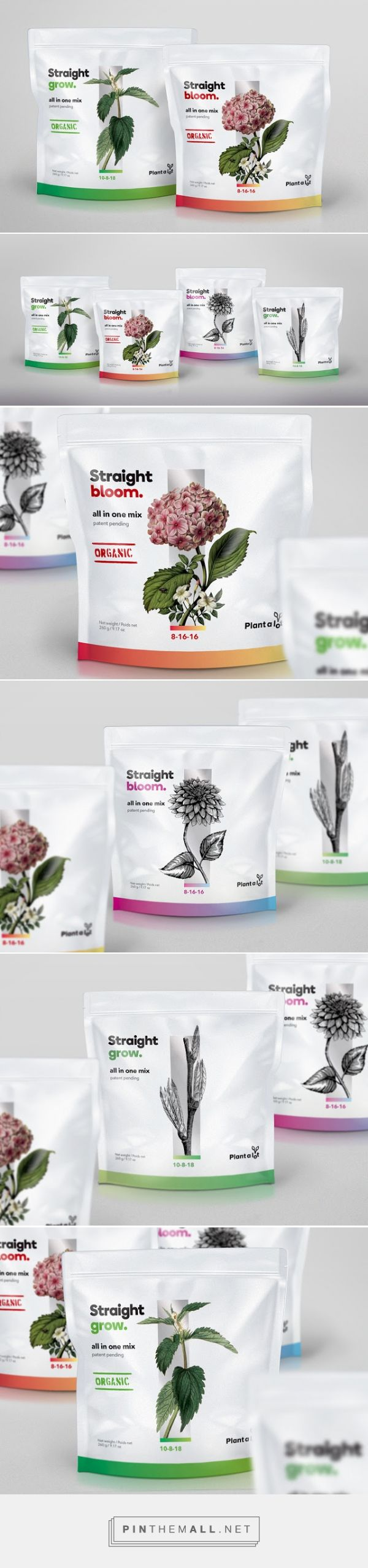 #Plant A Lot #packaging designed by Counterpunch - http://www.packagingoftheworld.com/2015/06/plant-lot.html