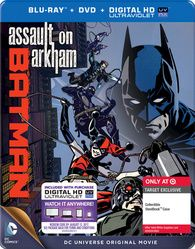 Batman: Assault on Arkham Blu-ray Steelbook