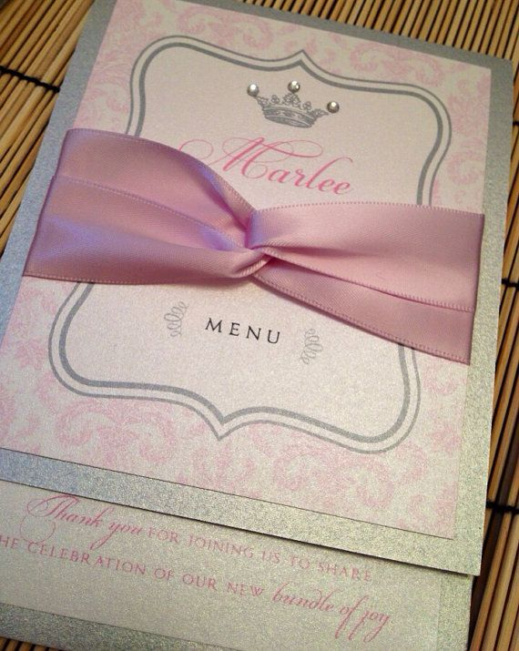 princess baby shower invitations by anaderoux on etsy 360