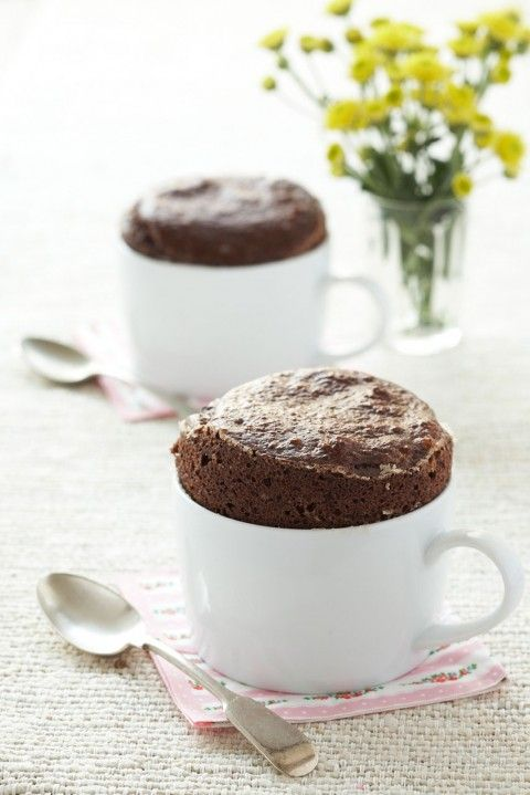 Awesome list of desserts you can make in mugs!