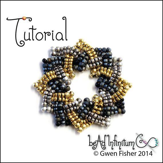 TUTORIAL Beaded Celtic Knots, Part 2 Rings, Rosettes & Beaded Beads