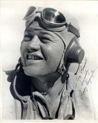 Greg Boyington USMC Fighter Pilot WWII Black Sheep Squadron . Flew an F-4 Corsar