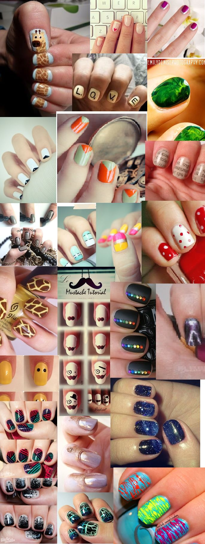 Awesome, you also can do this by short nails!