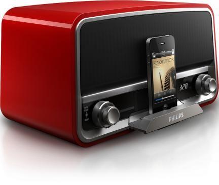 "Sound Dock ""Original Radio"" de Philips para iPod"