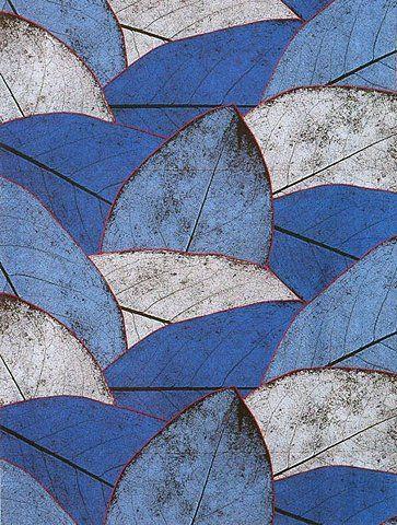Marimekko Kapris Pattern (1985) by Marimekko.  Got to have blue somewhere