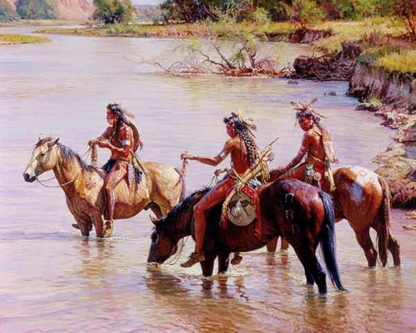 Martin Grelle - Offering to the River Spirit