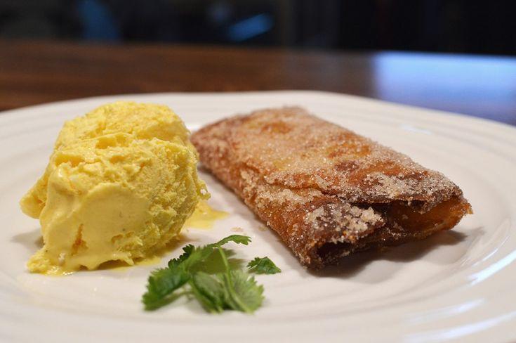 Dessert Chimichangas!   http://kingofthekitchen.net/dessert-chimichangas/
