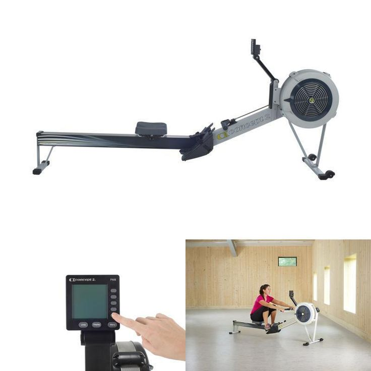 Concept2 Model D Indoor Rowing Machine with PM5 Crossfit Cardio Gym Fitness New #Concept2