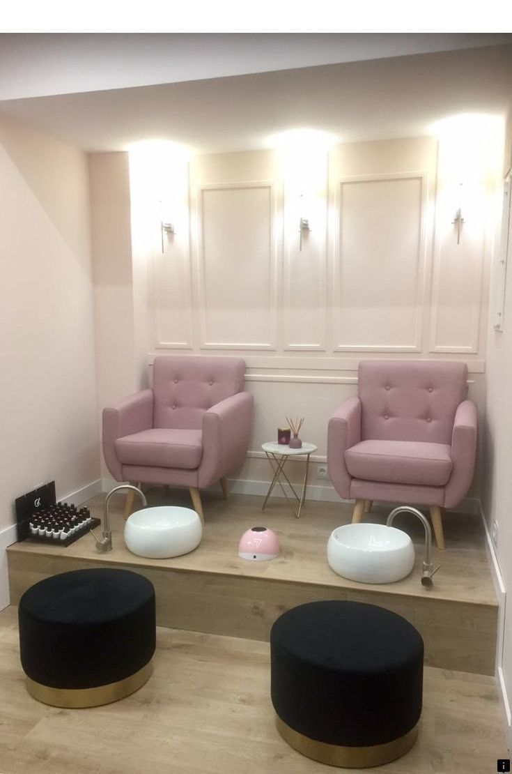 Modern Beauty Salon Interior Design Beauty Salon Interior Design Ideas And Advice Hair In 2020 Nail Salon Interior Nail Salon Interior Design Salon Interior Design