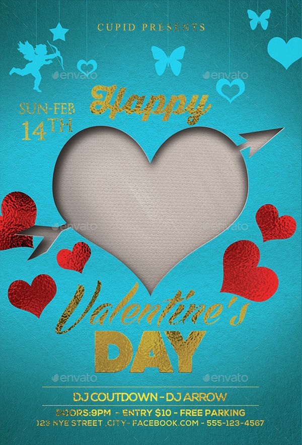 Valentine's Day Flyer Bundle v5