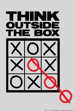 """Think Outside The Box"" 