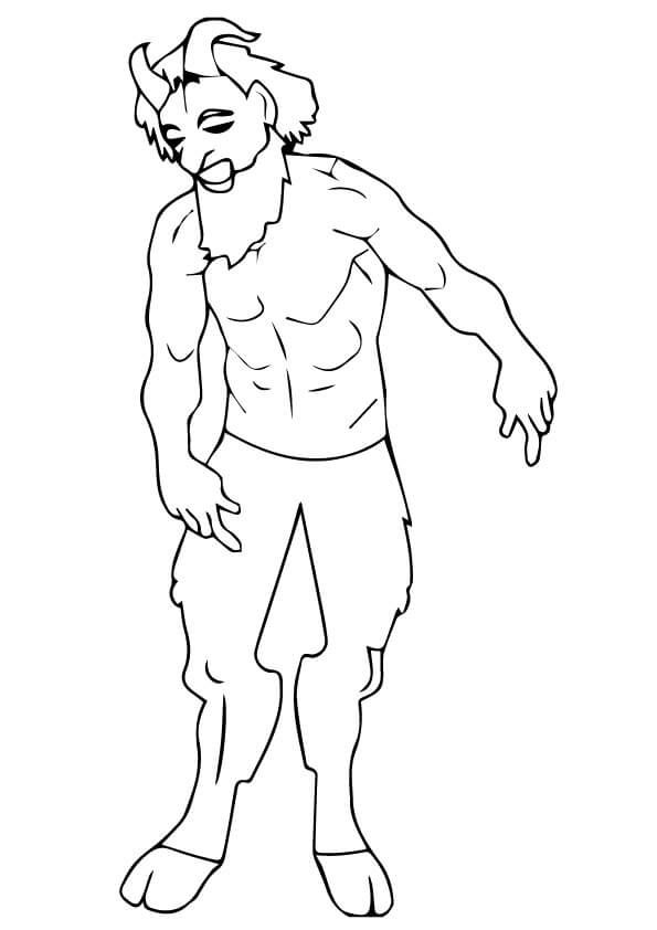 Tumnus Narnia Mom Junction Coloring Pages