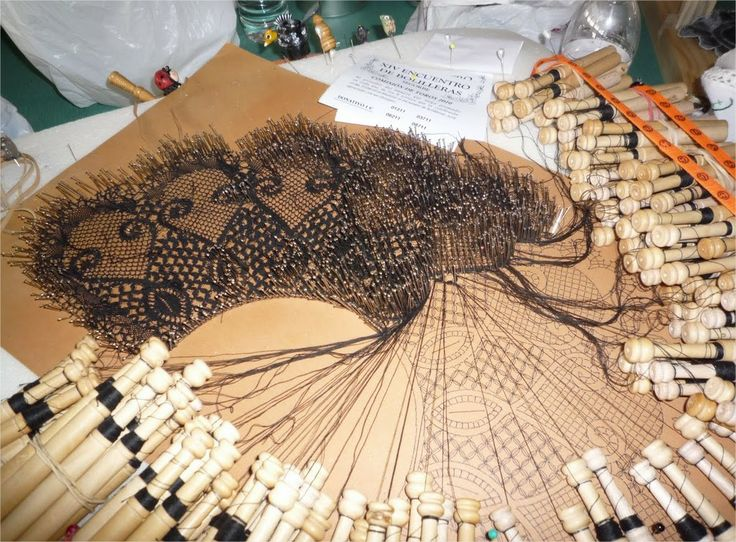 bobbin lace- try and get an idea of the patterns from the pics. look again for patterns