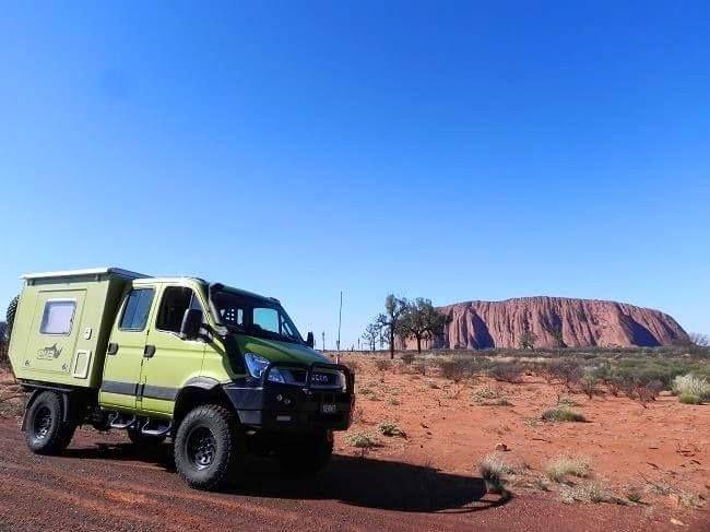 Iveco Daily 4x4 by EVA #4WD #4X4 #Uluru