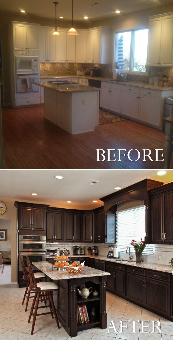 222 best Kitchen Transformations images on Pinterest