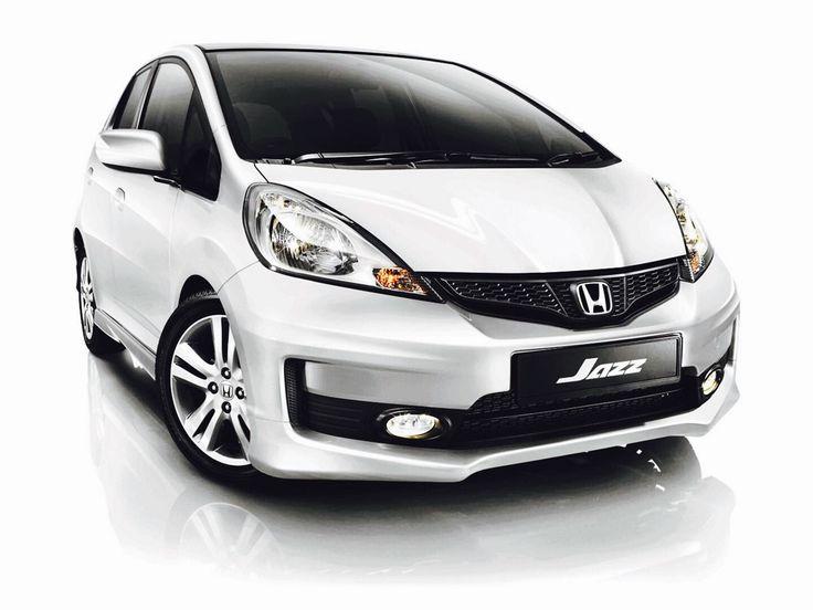 Amazing Honda Jazz GE8 Taffeta White