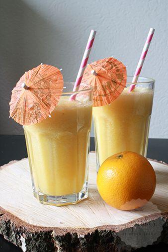Tropische smoothie met kokoswater