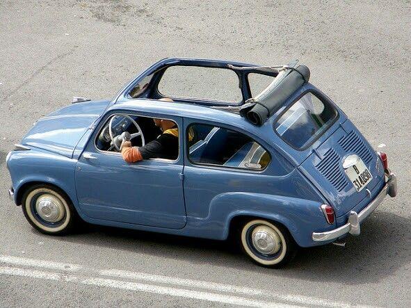 Fiat 600 (1955-1969) #fiat #italiandesign