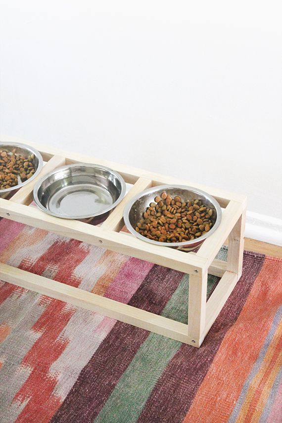 strangely enough, this is my first DIY for the cats ever. i guess i'm NOT that obsessed with them — AM I, DAD!? my cats have a tendency of knocking all their food onto the floor and spi…