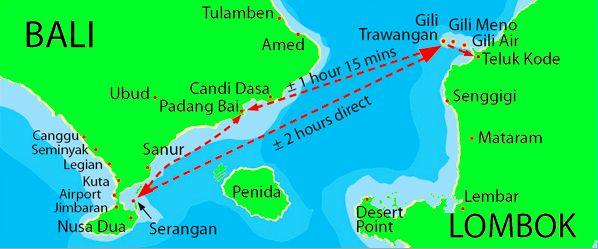 map of bali lombok and the 3 gili islands gili islands pinterest bali. Black Bedroom Furniture Sets. Home Design Ideas