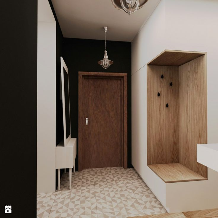 Hol / Przedpokój styl Skandynawski Hol / Przedpokój - zdjęcie od design me too - Homebook.pl