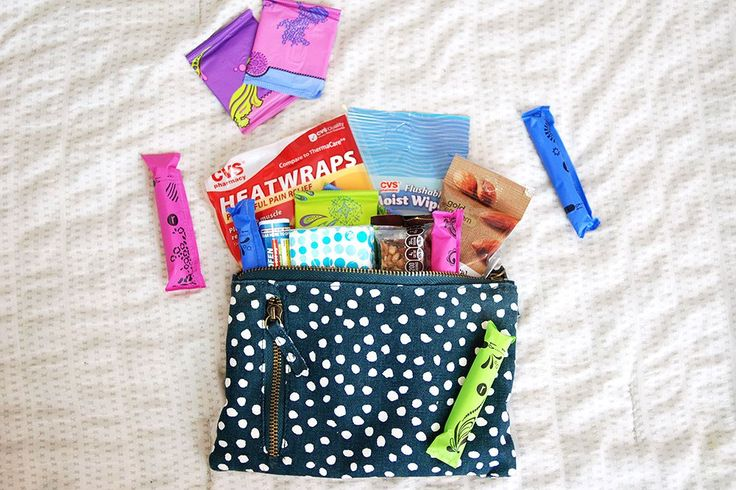 How To Pack A Period Kit For Comfort While Traveling