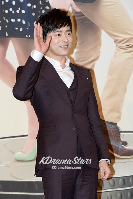 Jo Jung Suk Classic Black Suit at 'Lee Soon Shin Is The Best' Press Conference
