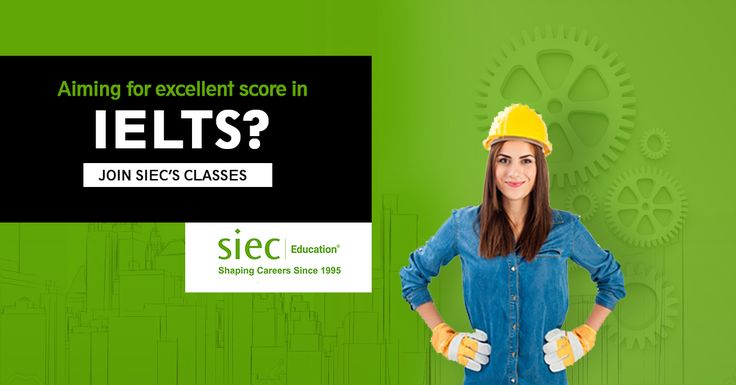 Aiming for Excellent Score in IELTS? JOIN SIEC's IELTS Coaching Classes. Batches start from 11th September, Enroll now for attractive discounts offer. -Flexible Timings -Certified Trainers -Updated Practice Material Call: 9878815118 Enroll Now: http://siecindia.com/ielts/ #IELTSClasses #IELTSCoaching #IELTSTrainingInstitute