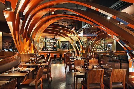 Sushi Samba Las vegas restaurants, Luxury restaurant
