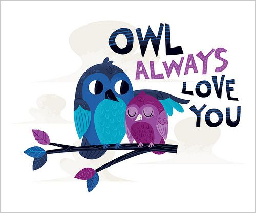 421 best images about Valentine – Owl Valentines Day Cards