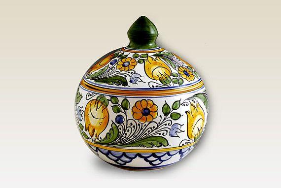 Lidded Bonbonniere. Haban Ceramic. 100 Handmade. by HabanCeramic, Ft19900.00