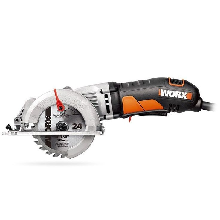 "WX429L WORX 4-1/2"" WORXSAW Compact Circular Saw 