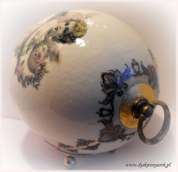 ostrich egg Faberge style