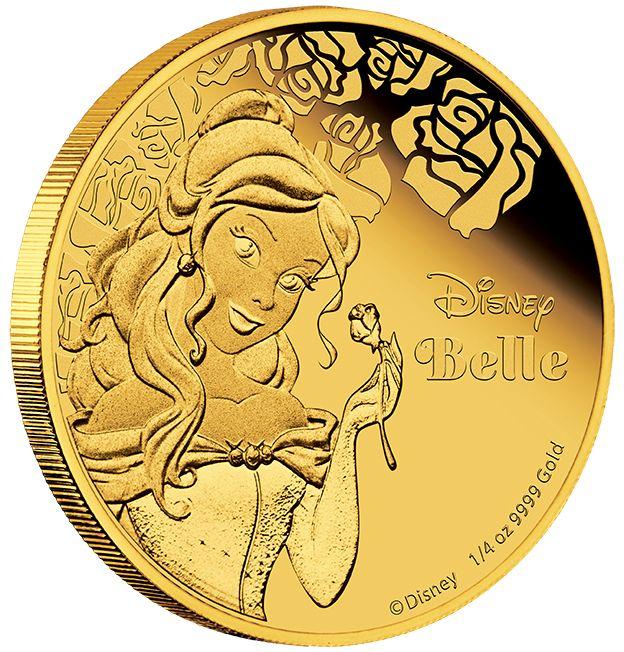 Disney Princess – Belle 2015 1/4oz Gold Proof Coin #AVeryMintChristmas