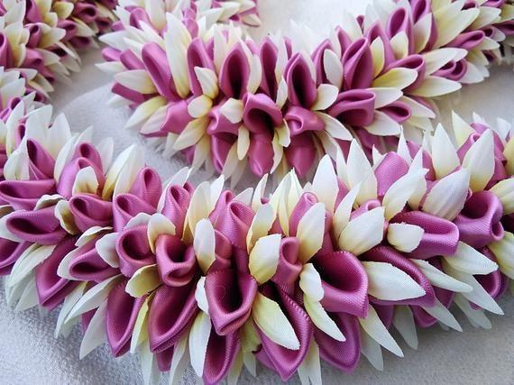 Dahlia hawaiian glory ribbon lei – #Dahlia #glory …