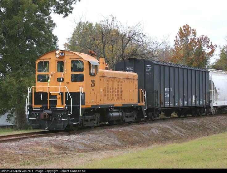 Operations of prescott northwestern railroad along with