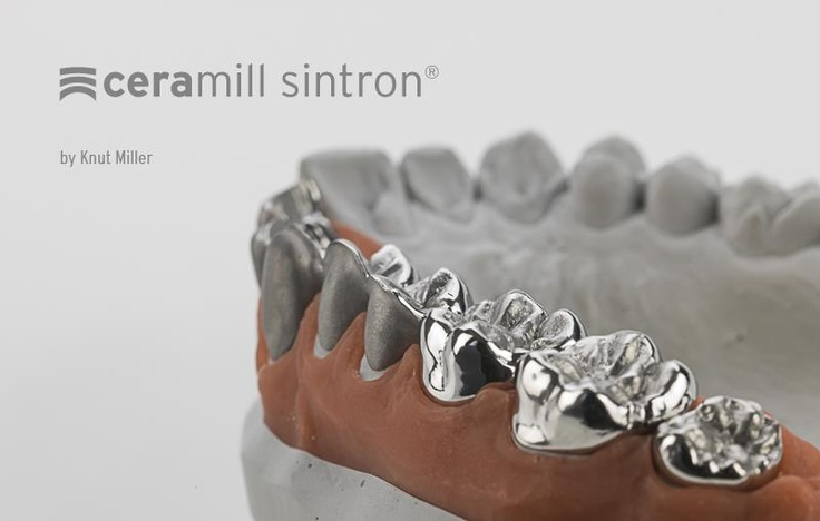 Ceramill Sintron® - Dry millable CoCr blank for Ceramill Motion 2