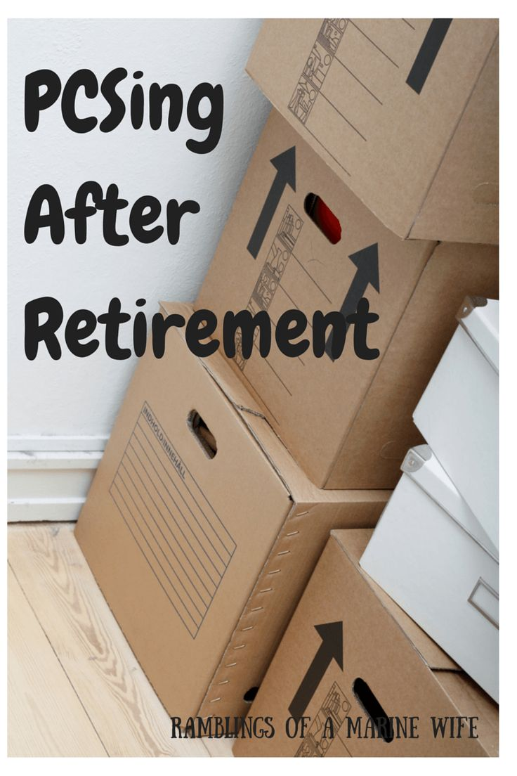 PCSing After Retirement | Ramblings of a Marine Wife