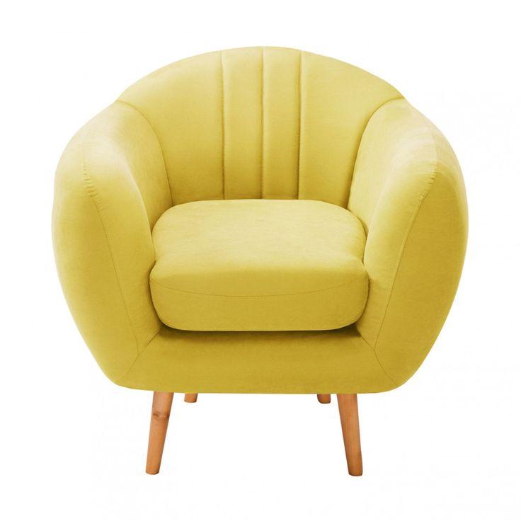 Die besten 25+ Sessel gelb Ideen auf Pinterest Senf wohnzimmer - wohnzimmer gelb grun