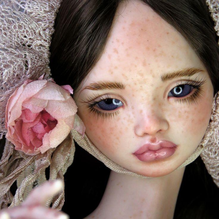 JooDella Reign porcelain art doll by Irina Lumiere, 2017